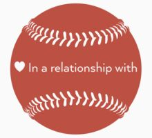Relationship Status: Baseball (Orange) by swiener