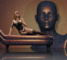 Life Imitating Art by Lisa  Weber