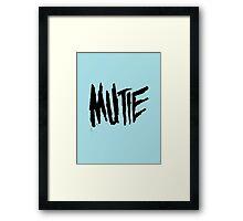 Mutie Framed Print