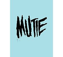 Mutie Photographic Print