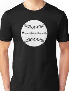 Relationship Status: Baseball (White) T-Shirt