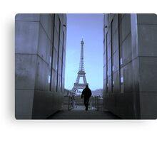 The Paris Blues Canvas Print