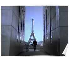 The Paris Blues Poster