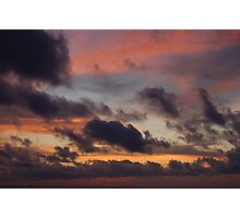 Bruised Sky Photographic Print