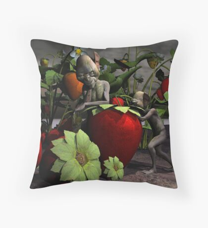 Dirty Little Thieves Throw Pillow