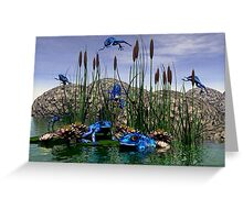 Dartmanns Flying Pond Greeting Card