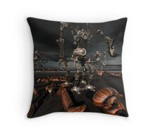 Collecting The Aftermath Throw Pillow