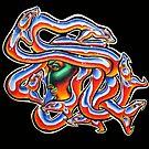 Chrome Medusa by Derek Mullins