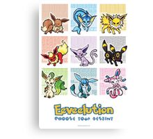 Pokemon Eeveelutions Canvas Print