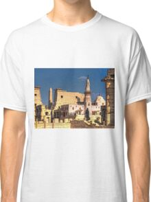 Abu Haggag Mosque And Luxor Temple Classic T-Shirt