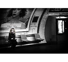 Le dernier Metro Photographic Print