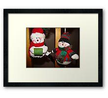 Christmas morning #4 Framed Print