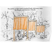 2005: The Gates in Central Park Poster