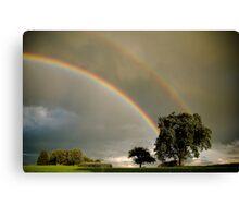 Double Rainbow! Canvas Print