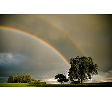 Double Rainbow! Photographic Print