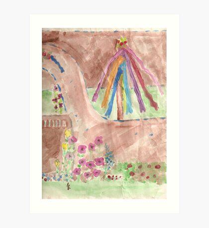 princess butterfly Art Print