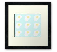 uhm eggs? Framed Print