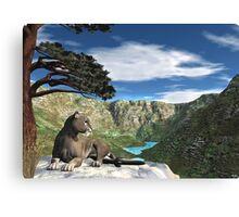 Cougar Canyon Canvas Print