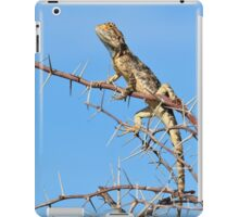 Spiny Agama - Lizard Blues of Fun iPad Case/Skin