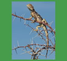 Spiny Agama - Lizard Blues of Fun Kids Clothes