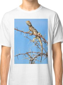 Spiny Agama - Lizard Blues of Fun Classic T-Shirt
