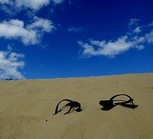 Abandoned Flip Flops by Ben de Putron