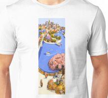 Riverside stroll Unisex T-Shirt