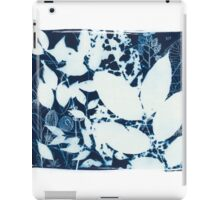 Forest Blueprint 1 iPad Case/Skin