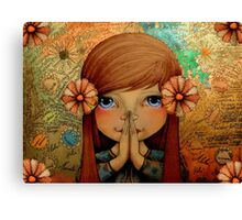 Greetings  Canvas Print