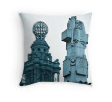 For King and Country Throw Pillow
