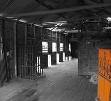 Shearing shed 2 by Joshua Westendorf