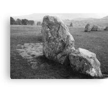 Castlerigg Stone Circle closeup Canvas Print