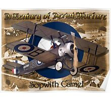 Sopwith Camel  A Century of Aerial Warfare Poster