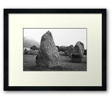 Castlerigg Stone Circle front Framed Print