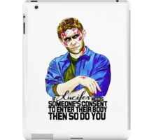 If Lucifer Needs Consent.. iPad Case/Skin