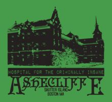 Ashecliffe Hospital, Shutter Island by theycutthepower