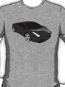 Black Lamborghini Gallado T-Shirt