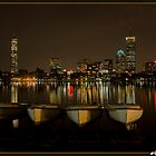 Boston from Memorial Drive by Gleb Zverinskiy