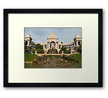 Palais Longchamp, Marseille, France (3x3 'panorama') Framed Print