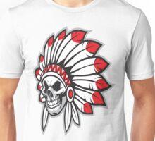indian (skull) Unisex T-Shirt