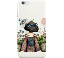 Topiary Teapot iPhone Case/Skin