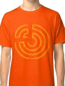 Roll Logo Abstract Classic T-Shirt