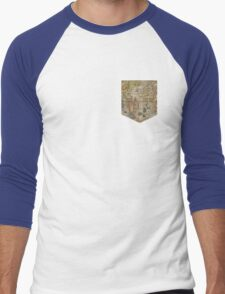 Map tee  Men's Baseball ¾ T-Shirt