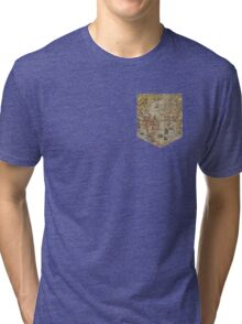 Map tee  Tri-blend T-Shirt