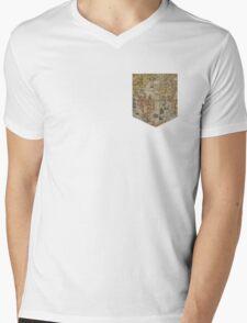 Map tee  Mens V-Neck T-Shirt
