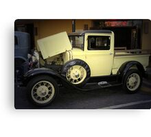 1931 Ford Model A Pickup Truck Canvas Print