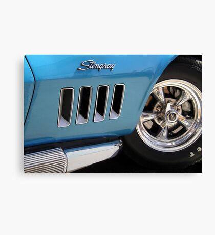 Chrome & Steel Canvas Print