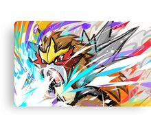 Entei | Sacred Fire Canvas Print
