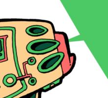 Raygun V Sticker
