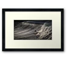 Bells Beach Surfer Australia Framed Print
